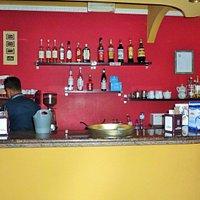 Entrata con banco bar