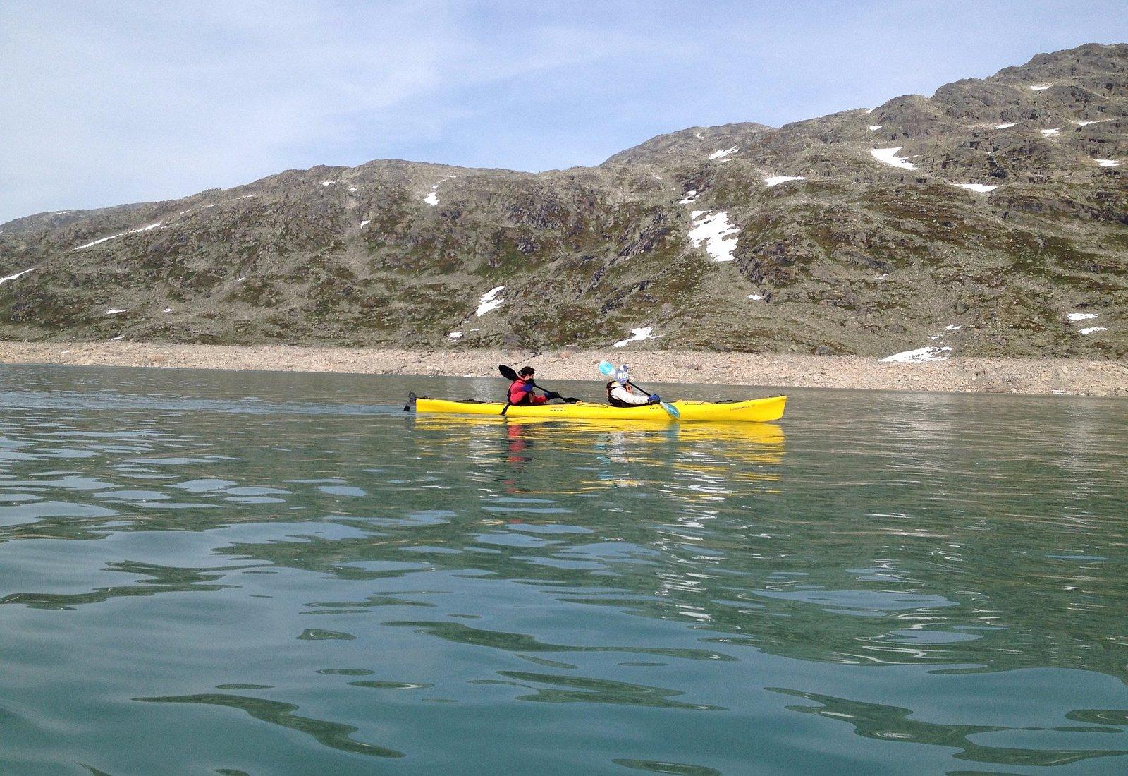 Styggevatnet og Austdalsvatnet
