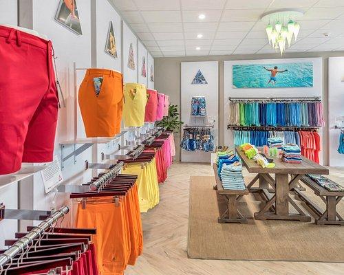 TABS Bermuda shorts flagship store in Hamilton, BERMUDA.