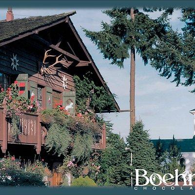 Boehm's Chalet & High Alpine chapel