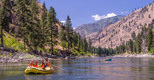 Rafting on the Main Salmon River