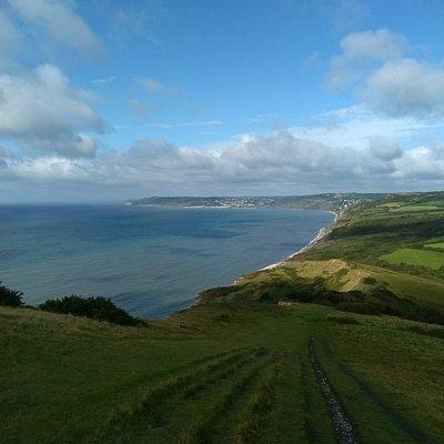 Coast path view