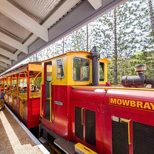 The Bally Hooley historic steam train service Port Douglas