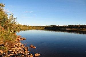 the river Ivalojoki