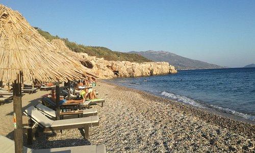 spiaggia attrezzata