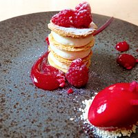 Raspberry & White Chocolate Mille-feuille
