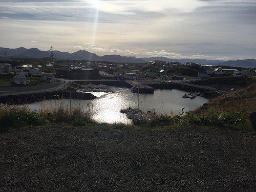 Stuðning view over Breiðafjörður islands