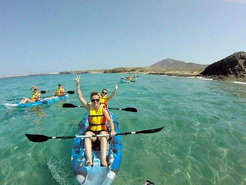 Kayak en las Playas de Papagayo