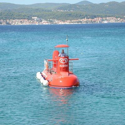Semisubmarine Orebić