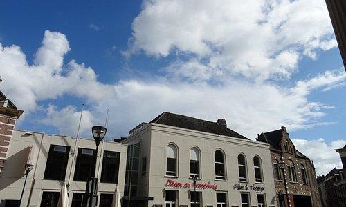 Filmtheater Fraterhuis aan de Blijmarkt Zwolle