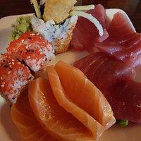 heerlijke sashimi