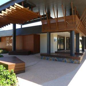 Civic centre modern building