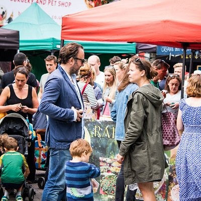 Family fun - Herne Hill Market August 2017
