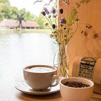 Relax with a cup of our bespoke blend of coffee