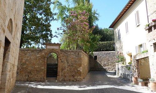 Chiesa di S.Maria Assunta giardino delle rose