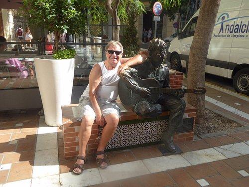 John in Plaza de las Flores