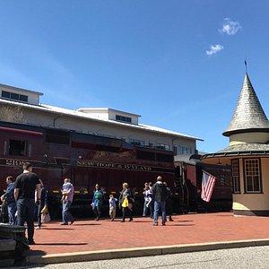 New Hope Station built in 1891