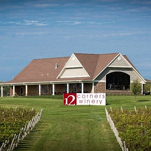 Vineyard view of the building.