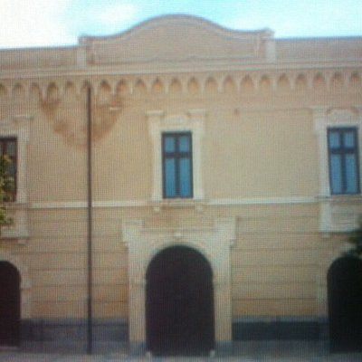 Facciata principale del Museo .