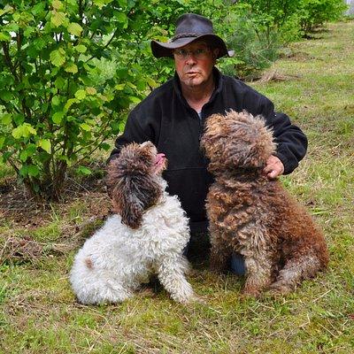 Mes deux chiens : Eole & Einstein