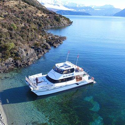 The pristine waters of Lake Wanaka
