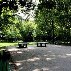 Leopoldpark in Schwabing