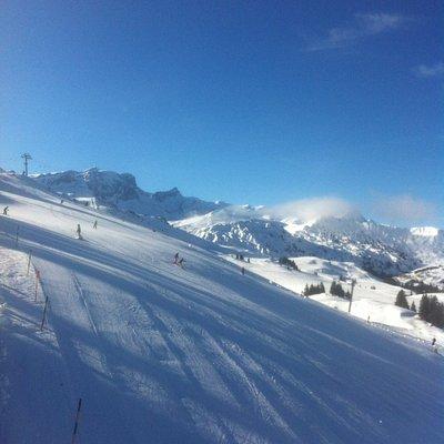 Sonne und Schnee, was will man mehr?