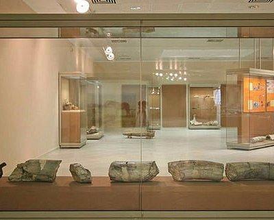 φωτογραφία από τον εσωτερικό χώρο του μουσείου