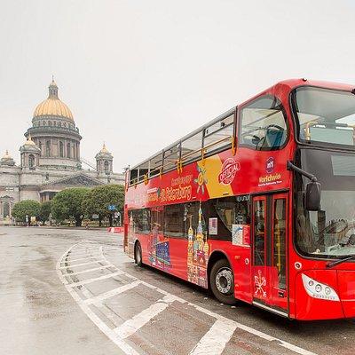 Обзорная экскурсия на двухэтажных автобусах City Sightseeing St. Petersburg