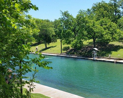 Barton Springs Pool in Austin, Texas