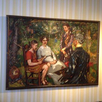Mooi schilderij uit 1930 van Martin Monnickendam