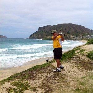 Tom Coen of American Samoa on Klipper Hole #13