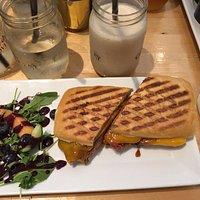 BBQ Hawaiian Grilled Cheese