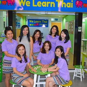 The lovely teachers at We Learn Thai CM