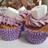 Uffington Community Cafe Lavender Cupcakes