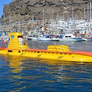 "Submarino ""Golden Shark"" en Puerto de Mogán"