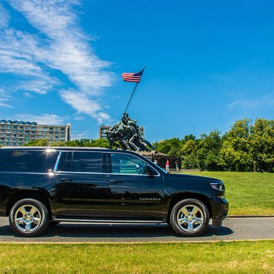 K&V SUV at Iwo Jima memorial
