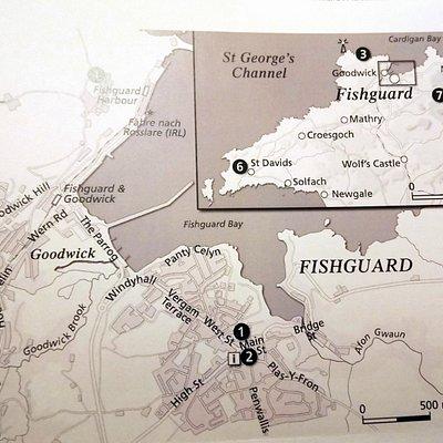 Beschreibung der Region Fishguard