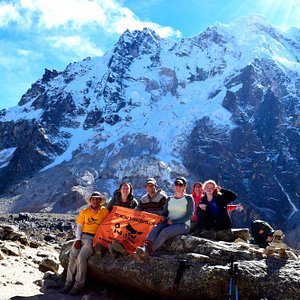 Inkayni Group at the Salkantay pass