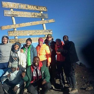 """""""We did it"""" The Highest freestanding mountain in the world"""