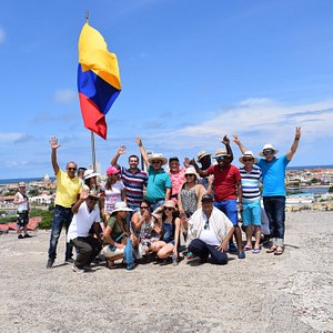 Castillo San Felipe con Vivamos Colombia
