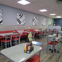 Delaney's Diner expanded seating area