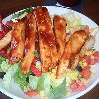 BBQ Chicen salad