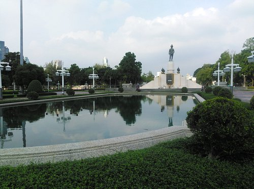 Water Body Near the Monument