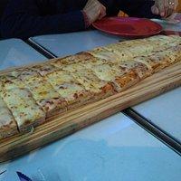 Pizza típica de Viva la pizza