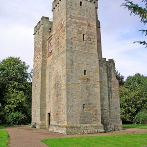 Tower as you approach