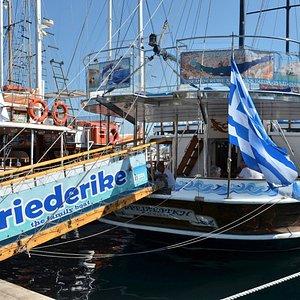 Boottocht met Friederike
