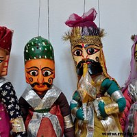 Títeres de la región de Rajastan (India)