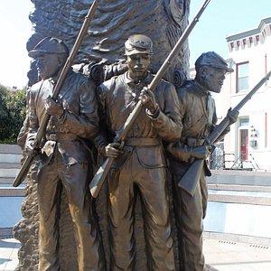 African American Civil War Memorial.