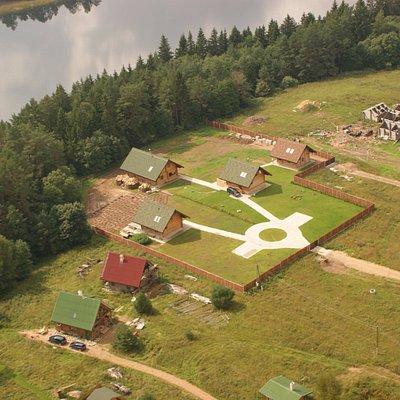 Деревня Вайшкуны, озеро Балдук, Голубые озёра.